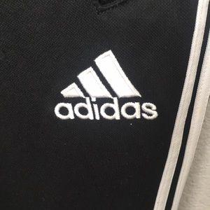 adidas Pants - Adidas training pants with leg zippers XL